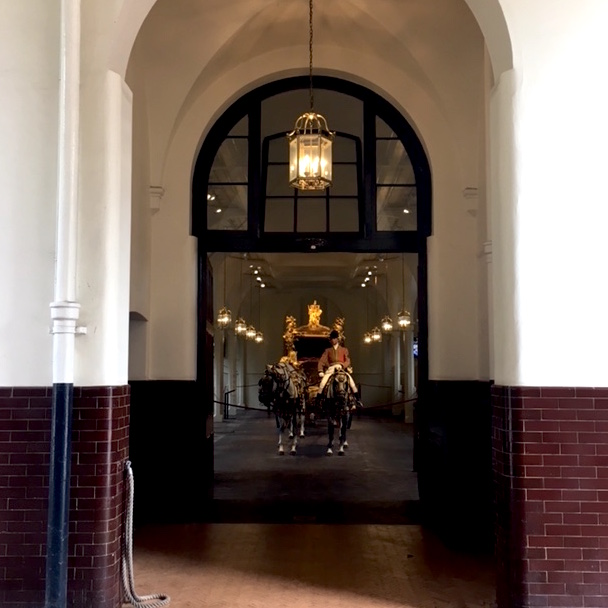 Gold Carriage Royal Mews