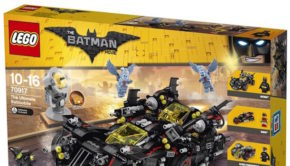 The ultimate Batamobile Lego