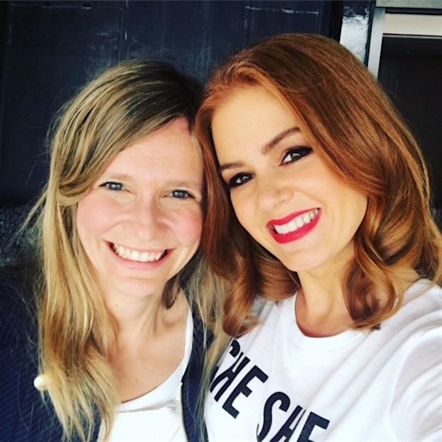 Tine with Isla Fisher
